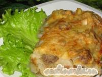 Пельмени, запеченные в духовке под сыром